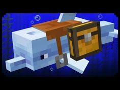 Minecraft: 10 Things You Didn't Know About Dolphins - Minecraft Servers Web - MSW - Channel Minecraft Crafting Recipes, Minecraft Secrets, Minecraft Cheats, Minecraft Farm, Minecraft Banners, Minecraft Modern, Minecraft Decorations, Amazing Minecraft, Cool Minecraft Houses
