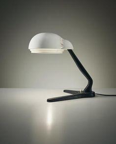 ALVAR AALTO Rare desk lamp, model no. A704 , circa 1954