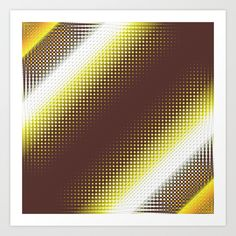 Buy Pattern brown and yellow by Christine baessler as a high quality Art Print. Worldwide shipping available at Society6.com. Just one of millions of products available.