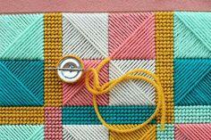 Vintage Needlepoint Bag Tutorial 7