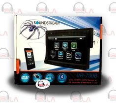 "Sourcing-LA: Soundstream VR-730B 7"" Bluetooth CD MP3 DVD Indash..."