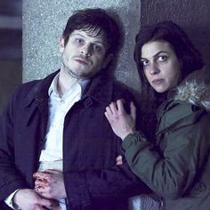Fun fact : He might have killed her in Game of Thrones, but in the mini-series 'Residue', Iwan Rheon (Ramsay) and Natalia Tena (Osha) are a couple. ✌ -