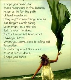 I Hope You Dance :)