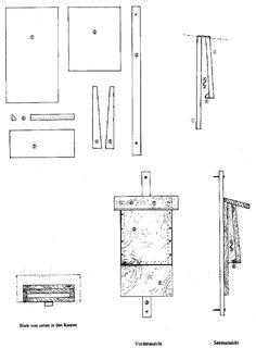 nabu bauanleitung f r einen fledermauskasten nistkasten f r wald und hausflederm use. Black Bedroom Furniture Sets. Home Design Ideas