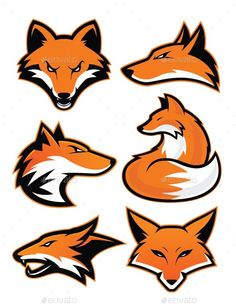 Buy Fox Mascot by sundatoon on GraphicRiver. Clipart picture of fox cartoon mascot logo character. Fully customizable in AI and EPS, Also available in JPG and PNG. Fox Character, Character Design, Snapchat Logo, Mouse Logo, Wood Badge, Fox Drawing, Fox Logo, Background Design Vector, Graffiti Drawing
