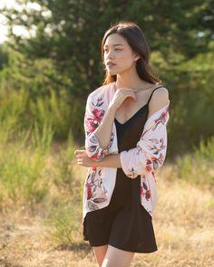 The beautiful Betty Blazer Kimono style Blazer Fashion, Kimono Fashion, Kimono Top, Kimono Style, Summer Collection, Insta Saver, Casual, Cotton, Jackets