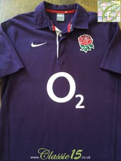 fe625ce4313 Relive England's 2009/2010 international season with this vintage Nike away  rugby shirt. England