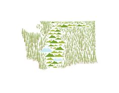 State Prints by amy ruppel, via Behance