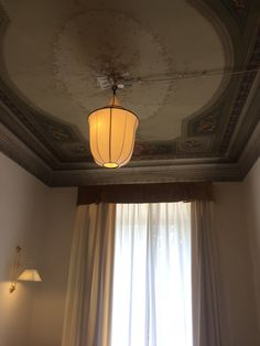 Lantern silk lamp from Gong