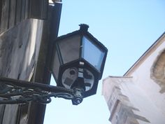 Lantern under st.Anna - old town