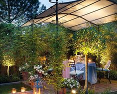 Pergola For Small Backyard Iron Pergola, Gazebo Pergola, Outdoor Gazebos, Deck With Pergola, Pergola Designs, Patio Design, Porch And Terrace, Pagoda Garden, Casa Loft