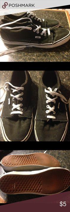 828f0939ad0988 Classic Vans (Faded Checkers  Black)