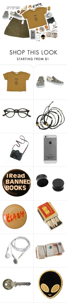 """""""//i need my current location to be your current location//"""" by abigialtheturtle ❤ liked on Polyvore featuring Vans, Scosha, Madewell, Case-Mate, Hot Topic, Ash and Stoney Clover Lane"""