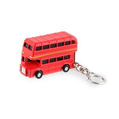 Dubbeldekker bus sleutelhanger | Kikkerland cadeaus shoppen bij 100% CADEAU, dé online cadeaushop