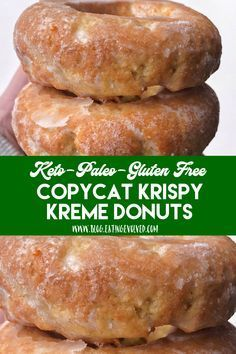 keto dessert Having a Krispy Kreme donut and living a keto lifestyle are no longer mutually exclusive, so bake these very yeasty and addictive donuts with a crunchy, sugary exterior youll Donuts Keto, Keto Cookies, Donuts Donuts, Healthy Donuts, Keto Chocolate Chip Cookies, Keto Pancakes, Low Carb Doughnuts, Healthy Foods, Low Carb Donut