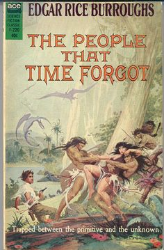 F-220 EDGAR RICE BURROUGHS The People That Time Forgot (cover by Roy Krenkle; 1963)