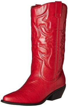d32c2c88e36 Soda Reno-S Women s Western Cowboy Pointed Toe Knee High Pull On Tabs Boots