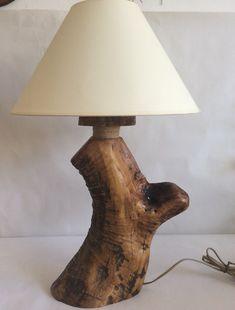 Επιτραπέζιο φωτιστικο με ξύλο απο κορμό ελιας. Table Lamp, Ship, Lighting, Home Decor, Rustic Lamps, Lamp Table, Decoration Home, Light Fixtures, Room Decor