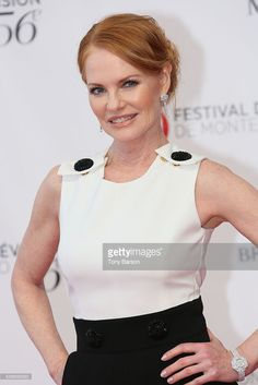 Marg Helgenberger arrives at the 56th Monte Carlo TV Festival Opening Ceremony at the Grimaldi Forum on June 12, 2016 in Monte-Carlo, Monaco.