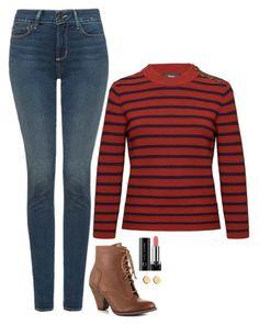 Kara Danvers Inspired Outfit by daniellakresovic on Polyvore featuring  polyvore moda style NYDJ Mojo Moxy Loren c77a169c5ed