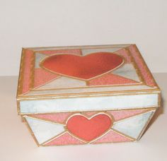 Don't Eat the Paste: Valentine stained glass box