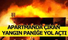 Konya Haber: Konyada apartmanın çatı katında çıkan yangın paniğe neden oldu
