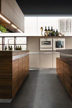 Team 7, Modern Kitchens, Natural Wood, Kitchen Islands, Kitchen Designs,  Layout