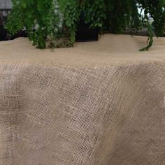 2 Pack Square Rustic Burlap Table Cover with Fringed Edge 54 inch >>> Details can be found by clicking on the image.