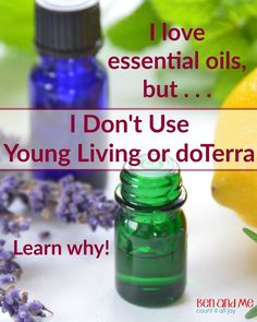 Why I make my own thieves oil blend instead of buying from Young Living or doTerra.