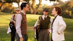 With  Leonardo DiCaprio as Howard Hughes, in The Aviator (2004)