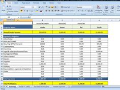 FREE Rental Property Investment Management Spreadsheet - Most of ...