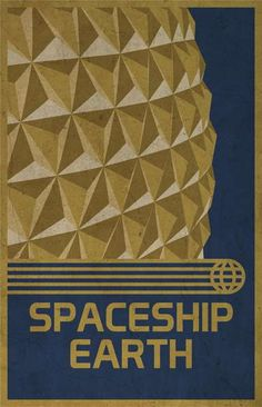 retro disney posters - These retro Disney posters celebrate the original EPCOT Center at Disney World in Florida. The series uses vector artwork to illustrate the themes .
