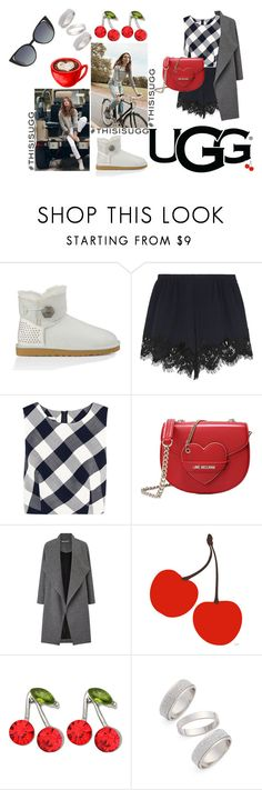 """""""Play With Prints In UGG: Contest Entry"""" by marina-gomes ❤ liked on Polyvore featuring UGG Australia, Oscar de la Renta, Love Moschino, Miss Selfridge, Kate Marie, Topshop, Fendi and thisisugg"""