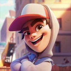 Kitten Cartoon, Cartoon Boy, Kid Character, Character Creation, Character Reference, Kids Cartoon Characters, Subway Surfers, Boy Images, Character Design Animation