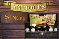 In this Monday's Antiques, Collectables & Vintage Online Auction is this beautiful Singer Buttonholer in it's Original Case! Plus tobacco tins and vintage hunting knifes to add to your display of antiques Under The Hammer, Auction, Singer, Display, Knifes, The Originals, Tins, Antiques, Hunting
