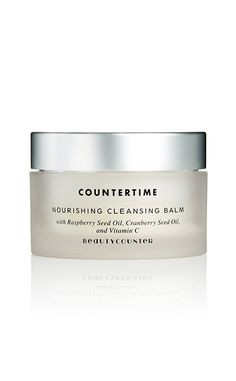 """""""I've been hearing amazing things about Beauty Counter, so I was thrilled to finally get to test out their skin care products recently. I Instantly fell in love with the brand's Nourishing Cleansing Balm. Just an itty bitty amount melts onto your skin and removes all makeup (yes, I mean all!) and leaves your skin glowy and baby soft. It's a game changer!""""—Cinya"""