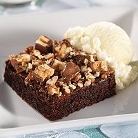 Quick Fudgy Brownies..come to my Deep Covered Baker! www.pamperedchef.biz/cookingwithcora