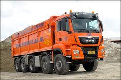 MAN 10x8 dump truck