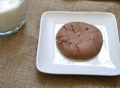Flourless Nutella Chip Cookies