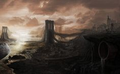 Download Cityscapes Post apocalyptic Wallpaper 2560x1600 ...