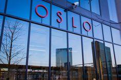 Oslo reflected in barcode www.oslo360.no