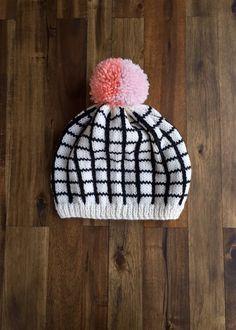 Raster Hut Nr. 1 von WhiteLodgeKnitwear auf Etsy
