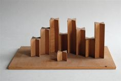 Kinderspielzeuggebäude / Children's building toy (with base) :: Th. Artur Winde 1950-1955