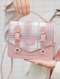 Korean Bags, Style Kawaii, Aesthetic Bags, Kawaii Bags, Kawaii Accessories, Accesorios Casual, Cute Purses, Girls Bags, Cute Bags