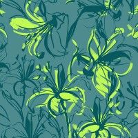 Lilies Jade and Lime