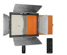 Yongnuo YN-600 LED Pro Video Light - Videolicht Flächenleuchte mit Fernbedienung, 5500° Kelvin Farbtemperatur, aktivem Lüfter, dualer Stromversorgung und digtal dimmbar Phorex http://www.amazon.de/dp/B00G9F6ZXQ/?tag=advert039-21
