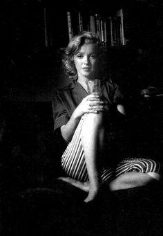 Marilyn Monroe photographed by Milton Greene,1953