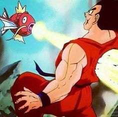 reasons why Yamncha is never good in a fight.