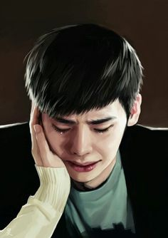 Lee Jong Suk don't cry in my dreams also because it will be the last moment of my life.