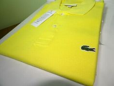 LACOSTE MEN/'S CLASSIC FIT POLO SHIRT FR 2 XSMALL RRP:-£79